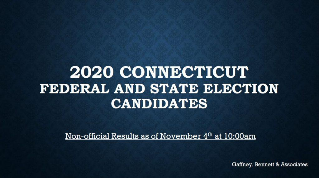 Gaffney Bennett Associates and 2020 Election Results